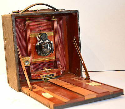 "Century large format wooden vintage camera ca. 1890 for 5x7"" film"