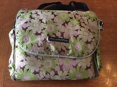 Petunia Pickle bottom diaper bag backpack shoulder back built in changing pad