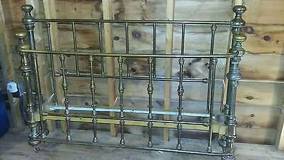 Antique Brass Bed - Full size Circa early 1900s