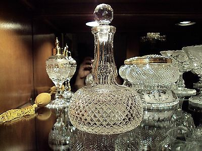 English Cut Glass Spirit Decanter c.1870-80 /England