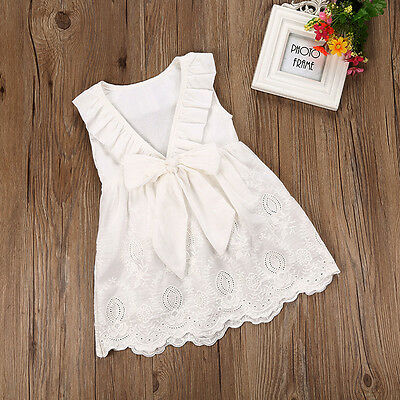 Flower Baby Girls Princess Dress Kids Baby Party Pageant Lace Tulle Tutu Dresses