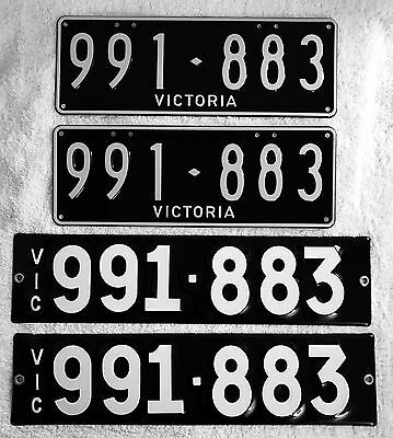 Victorian Numeric Number Plates Brand New Also Set Made In Vitreous  Enamel