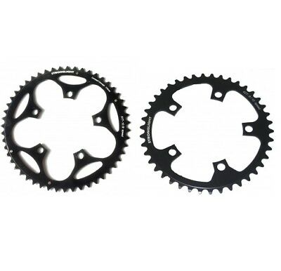 STRONGLIGHT DURAL 5083 BLACK 110BCD mm SHIMANO COMPACT CHAINRING   52T