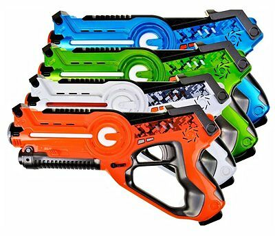 Laser Tag Game Equipment Guns Pack for Kids Set Multiplayer Gun Games for Adults