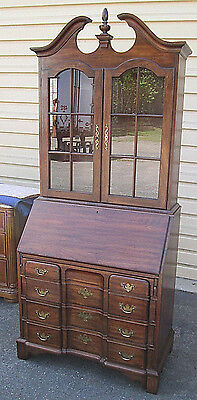 56973 Pennsylvania House Cherry Secretary desk with Bookcase Top