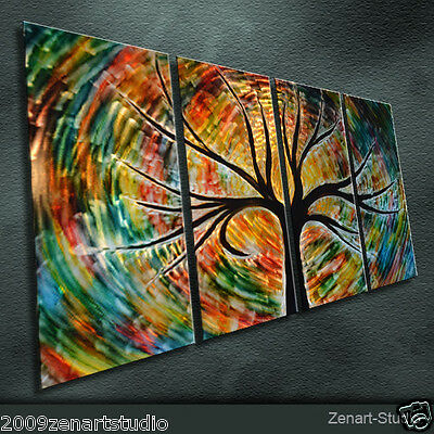 Modern Abstract Metal Art Original Special Large Indoor Outdoor Decor by Zenart