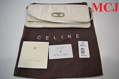 New Never Used - Celine Clutch Pearl White