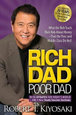 NEW Rich Dad Poor Dad By Robert t KIYOSAKI Paperback Free Shipping