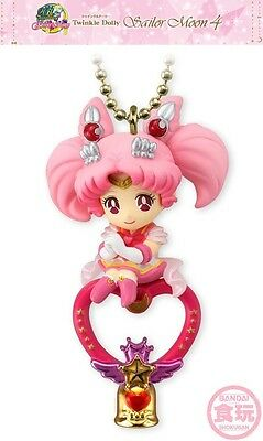 Bandai Sailor Moon Twinkle Dolly 4 Super Sailor Chibi Moon Charm Chain Figure