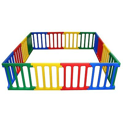 Happy Panel Playpen | 5+ Playpens in 1 | Giant Plastic Childrens Play Room
