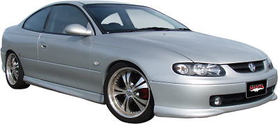 "Holden Monaro VZ 5.7L V8 Coupe, Manta 2.5"" Dual Full system with extractors"
