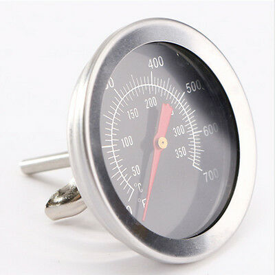 Stainless Steel Barbecue BBQ Smokers Grill Thermometer Temperature Gauge 50-350℃