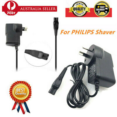 15V 6W AU Plug For PHILIPS Shaver Charger Power DC Adapter Lead PT720 AT880 OZ