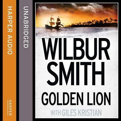 NEW Golden Lion [Unabridged Edition] By Wilbur Smith Audio CD Free Shipping