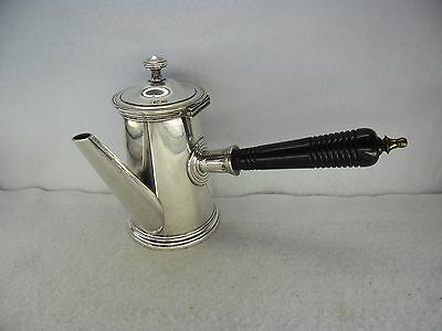 French c.1900 Silver Plated Chocolate Pot by Charles Halphen