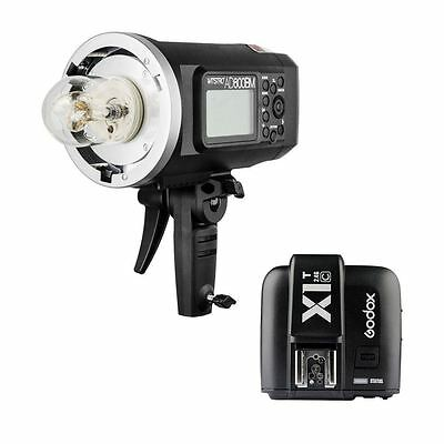 Godox Wistro AD600BM Manual Outdoor Flash + X1T-C TTL Transmitter for Canon