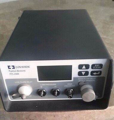 "Puritan Bennett Covidien PTS 2000 Ventilator Tester  ""Used once"""