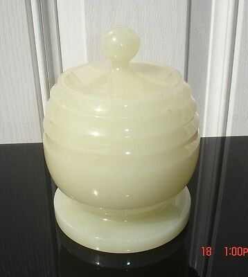 Hand Carved Chinese Jade Stone Antique Pot