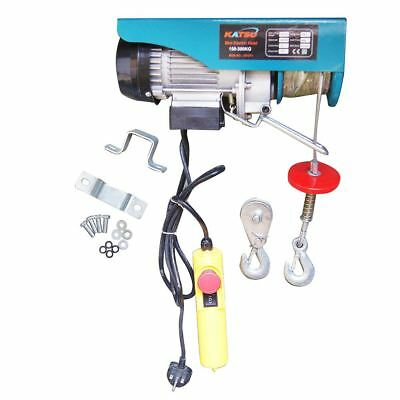181311 Scaffolding Winch Electric Workshop Garage Gantry Hoist 300Kgs 550W