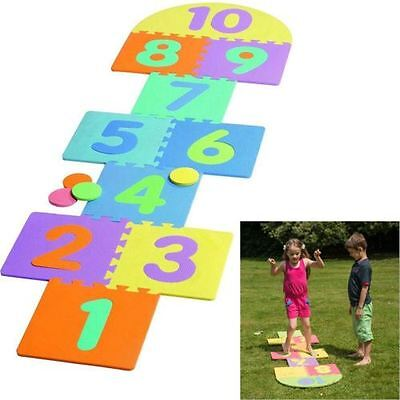 Giant Outdoor Garden Childrens Kids Hopscotch Game