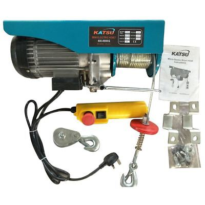 181314 Scaffolding Winch Electric Workshop Garage Gantry Hoist 800kgs 1300W