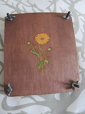 Vintage Wooden flower press Great Detail Nice Item Ready to Use Good gently Used