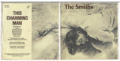 "SMITHS 7"" GREEK ULTRA RARE SEALED This Charming Man-Morrissey-Johnny Marr-VIRGIN"