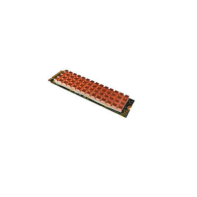 M.2 NGFF 2280 Pure Copper Heatsink SM961 960PRO NVMe SSD Cooling Plate 67x18x2mm