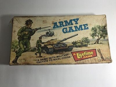 Vintage 1960S Board Game - 'army Game'  - Australian Made - Cyclops Toys