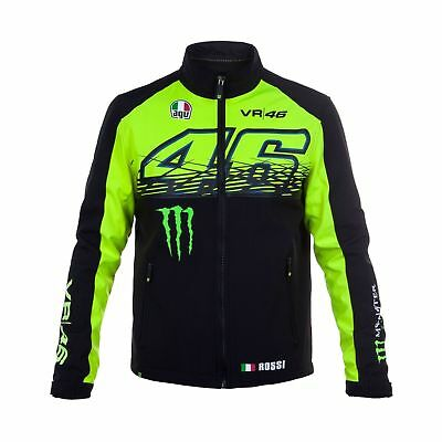 Giacca Soft Shell Valentino Rossi  Monster Energy  MotoGP Collezione Vr46 2017