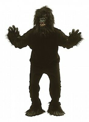 Adults Gorilla Ape Monkey Fancy Dress Costume King Kong Stag Night Outfit
