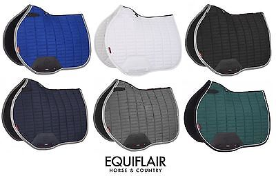 LeMieux ProSport Suede Euro Jump Showjumping Square / Saddlecloth / Saddle Cloth