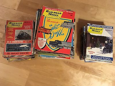 Railroad Model Craftsman Magazine - Big Lot of 139 Back Issues 60s to 80s Trains