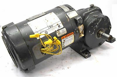 Us Motors/emerson S353, 1 Hp, 3Ph, Syncrogear Speed Reducer Type Gwp, Ratio 39.0