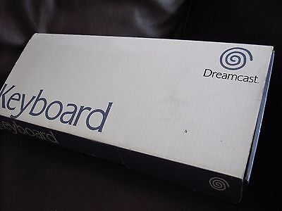 GENUINE ORIGINAL SEGA - Boxed OFFICIAL Dreamcast Keyboard - fully tested