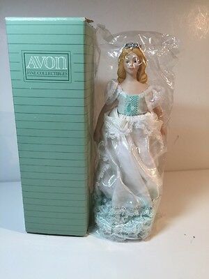 "New in box:  1988 Avon Porcelain Doll Collection  ""Fairy Princess"""