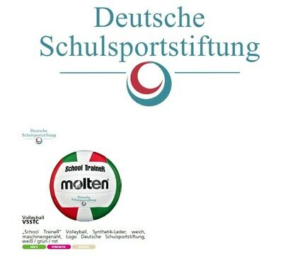 Volleybal Molten School TraineR V5STC Volleyball Training Schule Freizeit Indoor