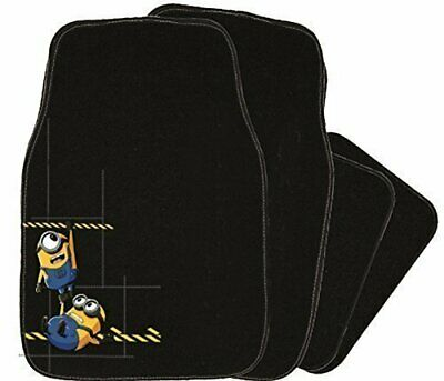 Minons / Despicable Me - 4 Piece Car Floor Mat Set (Embroidered Minion Mats)