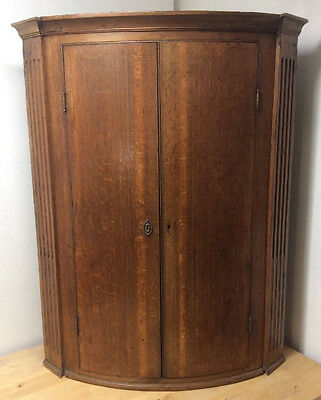 Antique Mahogany Corner Cupboard Victorian