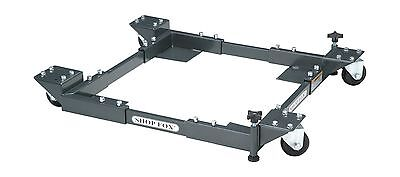 """Shop Fox D2057A Adjustable Mobile Base Small 19"""" x 20-1/2"""" to 29-1/2"""" x 29-1/2"""""""