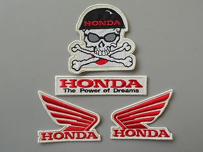 Patch Honda Ali The Power Of Dreams Teschio Pz 4 Ricamate Termoadesive - Replica