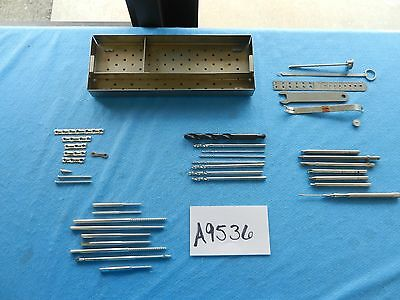 Medtronic Synthes Surgical Orthopedic Instruments With Case