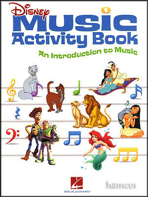 Disney Music Activity Book An Introduction to Music with Piano Keyboard Stickers