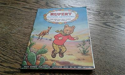 RUPERT THE BEAR ADVENTURE BOOK SERIES No.38 Autumn Adventures 1958