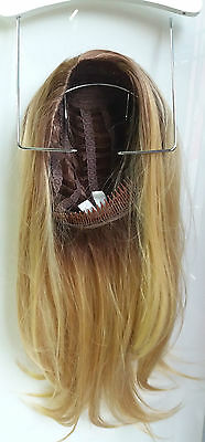Balmain Half Wig Mezza Parrucca 55 Cm Biondo Medio Un Extension Immediata