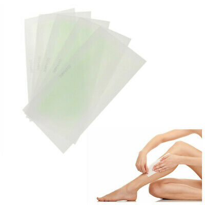 New 10PCS Waxing Strips Full Body Facial Hair Removal Wax Paper Skin Smooth