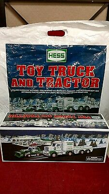 New In Box 2013 Hess Toy Truck And Tractor