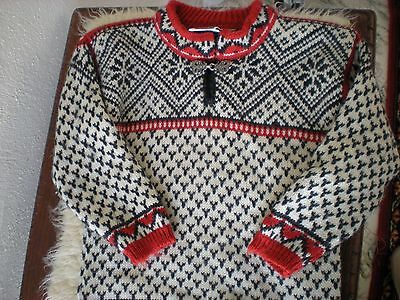 Dale Of Norway Wool Norwegian Sweater Boy's Youth Size 4