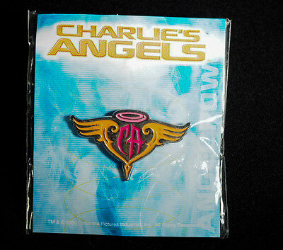 Charlie's Angels 2000  Cameron Diaz Lucy Liu Rare Collectible Pin from Japan