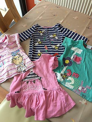 Girls Top Tshirt Bundle Age 2-3 Boden  Next Dunnes Charlie And Lola